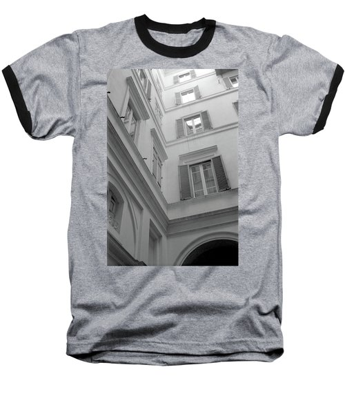 Courtyard In Rome Baseball T-Shirt