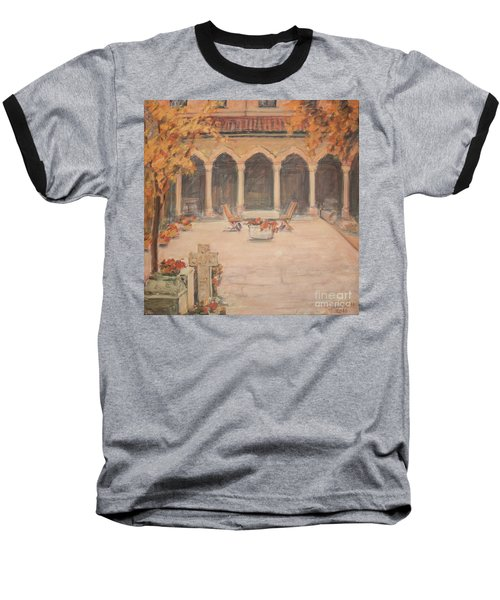 Courtyard Of Stravopoleos Church Baseball T-Shirt
