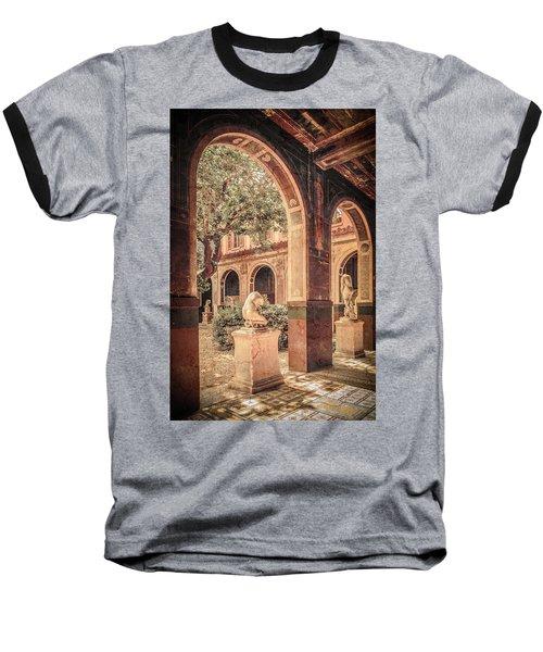 Paris, France - Courtyard West - L'ecole Des Beaux-arts Baseball T-Shirt