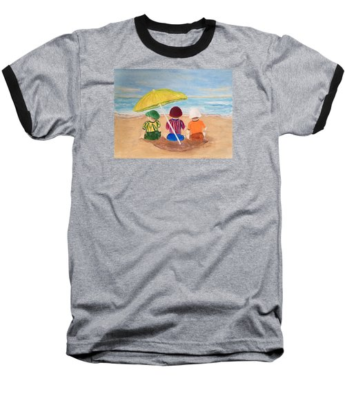Cousins At The Beach Baseball T-Shirt