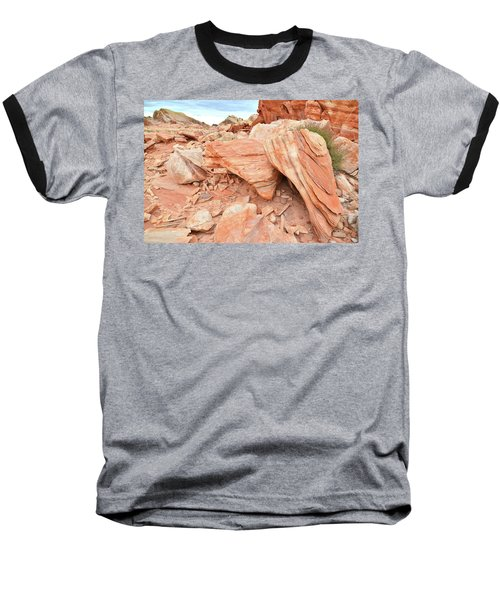 Baseball T-Shirt featuring the photograph Cove Of Sandstone Shapes In Valley Of Fire by Ray Mathis