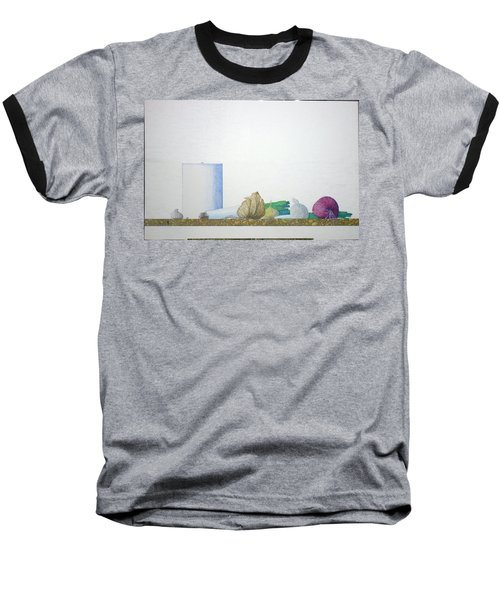 Baseball T-Shirt featuring the painting Coventry by A  Robert Malcom