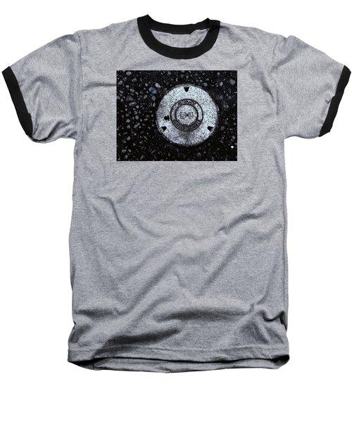 Cover Baseball T-Shirt by John Rossman