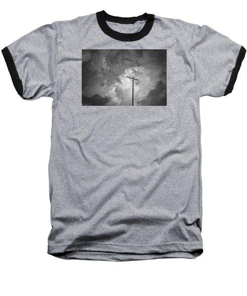 Cover Twice Baseball T-Shirt by Mark Ross