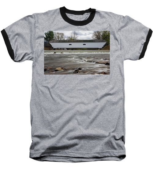 Covered Bridge In March Baseball T-Shirt