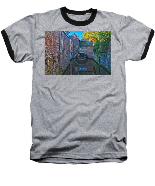 Covered Canal In Den Bosch Baseball T-Shirt