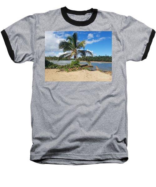 Covered Palm Beach Baseball T-Shirt