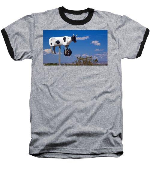 Cow Power Baseball T-Shirt