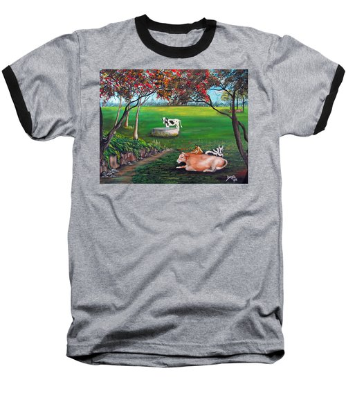 Cow Tales Baseball T-Shirt