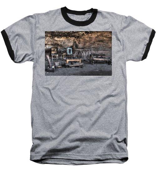 Cowboy Camp 1880s Baseball T-Shirt