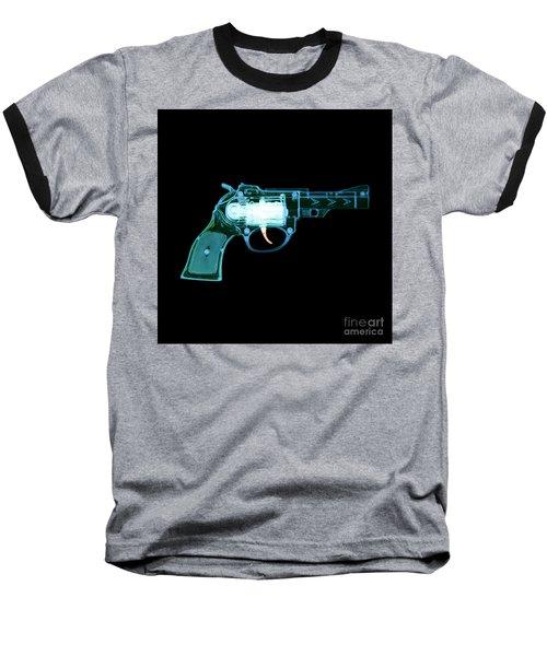 Cowboy Gun 001 Baseball T-Shirt