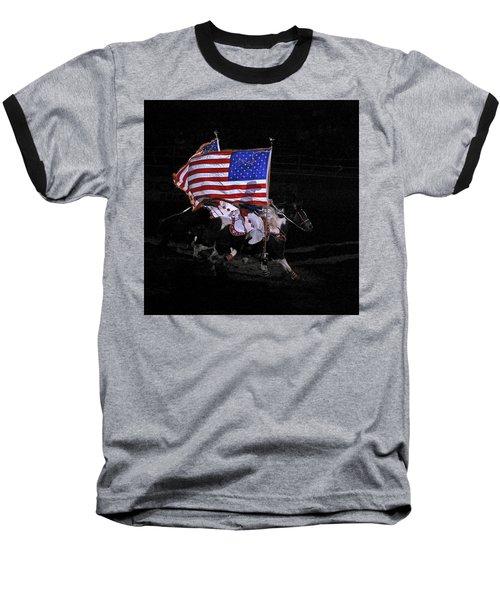 Cowboy Patriots Baseball T-Shirt by Ron White