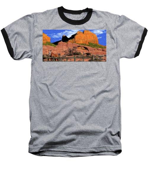 Cowboy Sedona Ver 4 Baseball T-Shirt