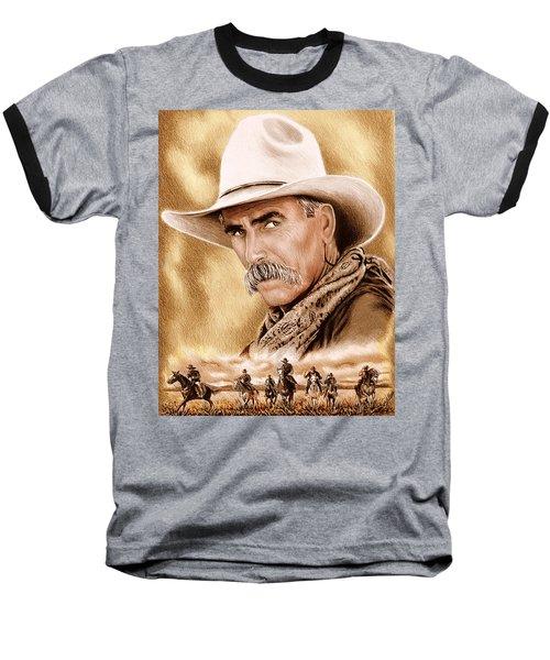Cowboy Sepia Edit Baseball T-Shirt