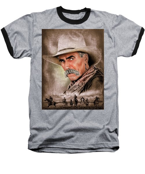 Cowboy Version 3 Baseball T-Shirt
