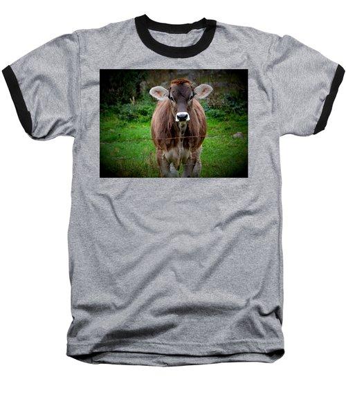 Cowlick Baseball T-Shirt