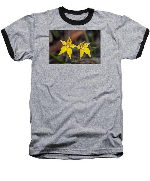 Cowslip Orchid Australia Baseball T-Shirt