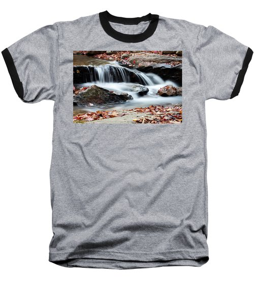 Coxing Kill In Autumn #1 Baseball T-Shirt by Jeff Severson