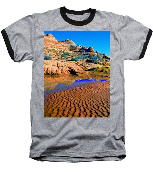 Coyote Buttes Reflection Baseball T-Shirt
