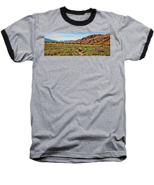 Coyote Canyon Meadow View Baseball T-Shirt