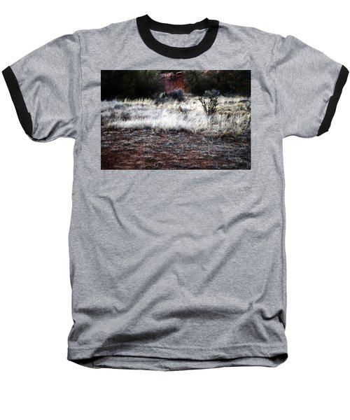 Coyote Baseball T-Shirt by Joseph Frank Baraba