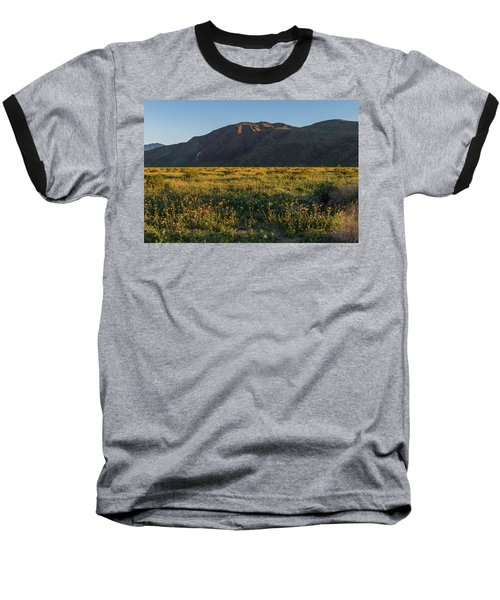 Coyote Mountain And Henderson Canyon Road Baseball T-Shirt