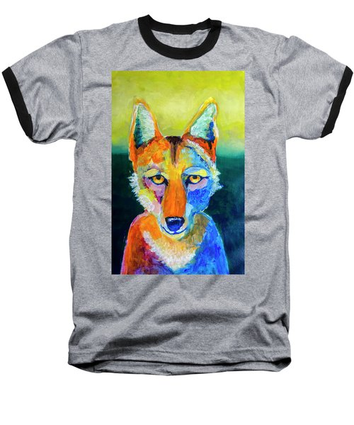 Coyote Baseball T-Shirt by Rick Mosher