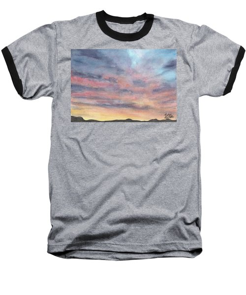 Coyote Sunset Baseball T-Shirt