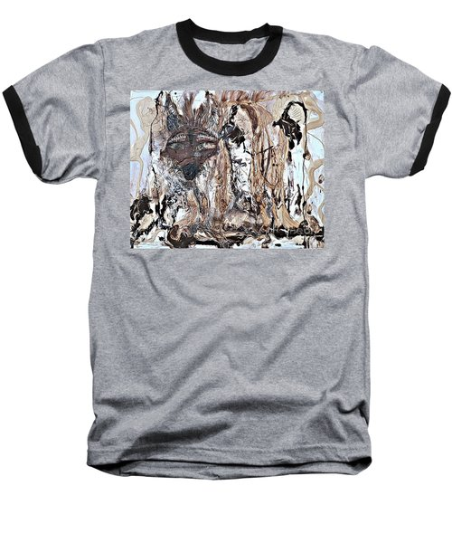 Coyote The Trickster Baseball T-Shirt