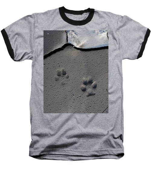Coyote Tracks Baseball T-Shirt