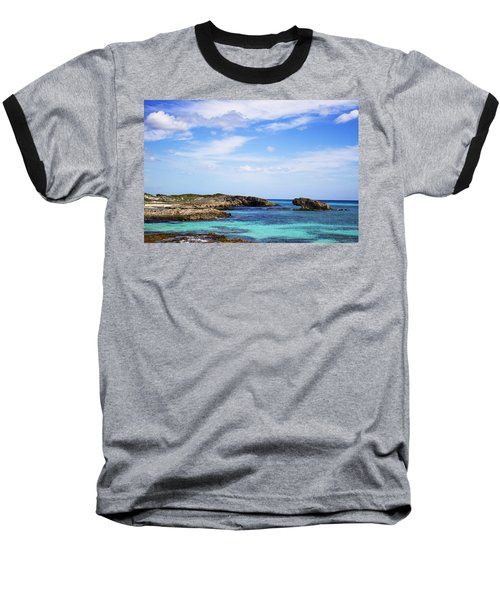 Cozumel Mexico Baseball T-Shirt by Marlo Horne