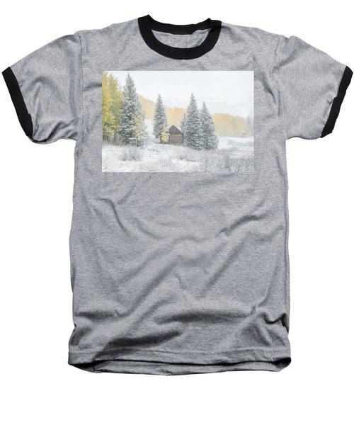 Cozy Cabin Baseball T-Shirt