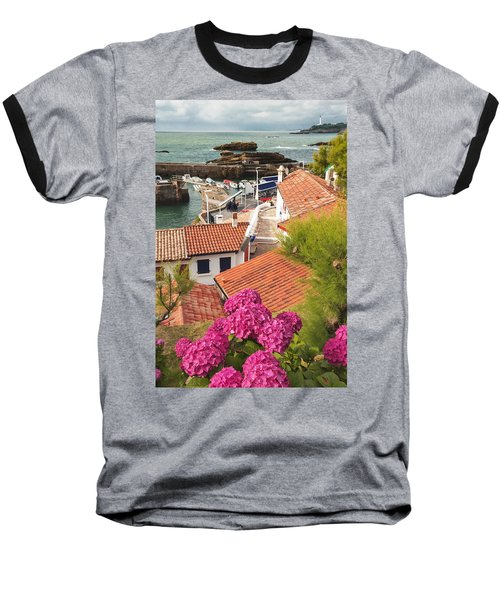 cozy tourist town on the Bay of Biscay Baseball T-Shirt