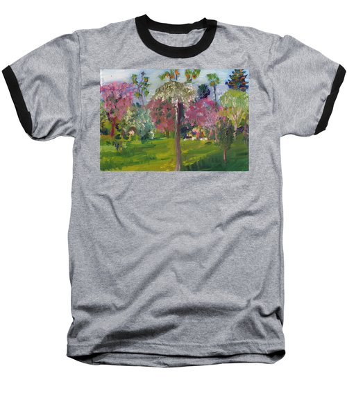 Crab Apple Blossom Time Baseball T-Shirt