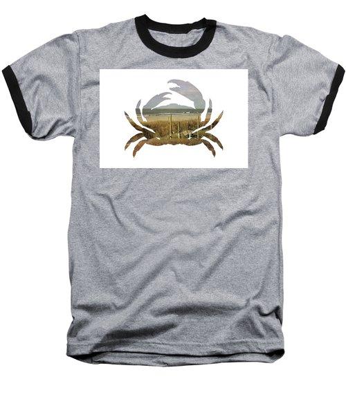 Crab Beach Baseball T-Shirt