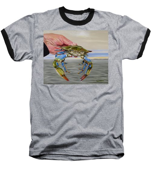 Crab Fingers Baseball T-Shirt