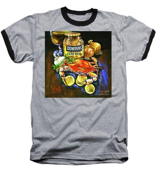 Crab Fixin's Baseball T-Shirt