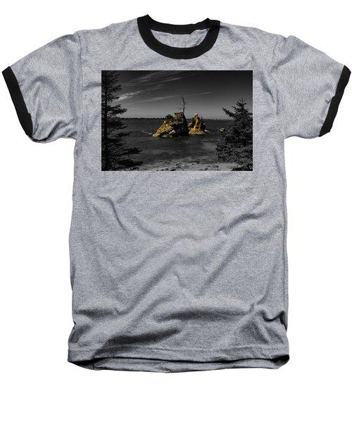 Crab Rock Baseball T-Shirt