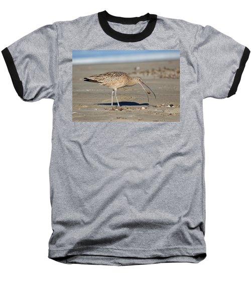 Crab Toss - Curlew Baseball T-Shirt