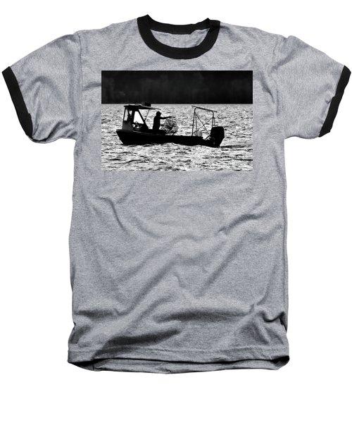 Crabbing On The Pamlico Baseball T-Shirt