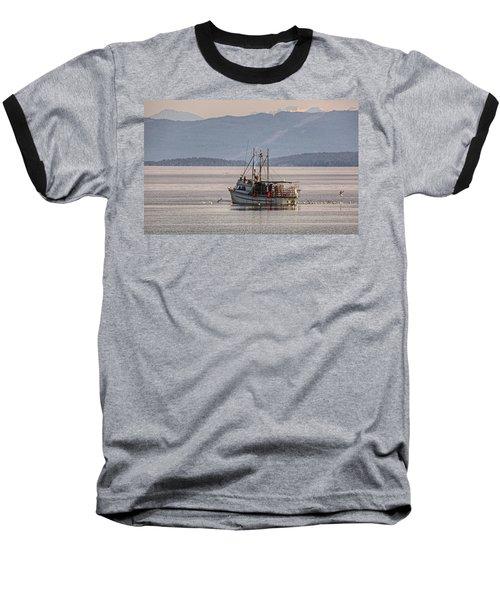 Crabbing Baseball T-Shirt