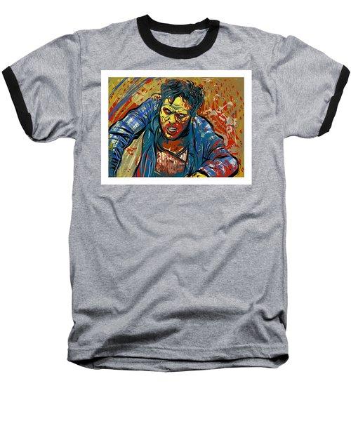 Baseball T-Shirt featuring the digital art Crabby Joe by Antonio Romero