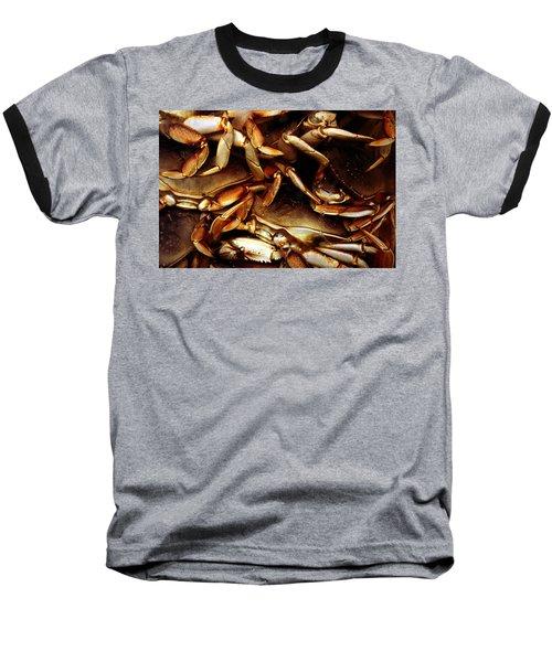 Crabs Awaiting Their Fate Baseball T-Shirt