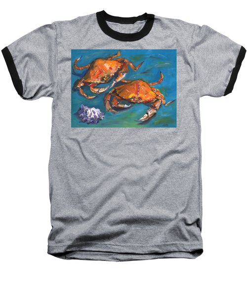 Crabs Baseball T-Shirt
