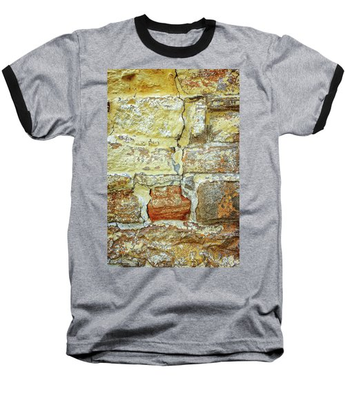 Cracked Baseball T-Shirt