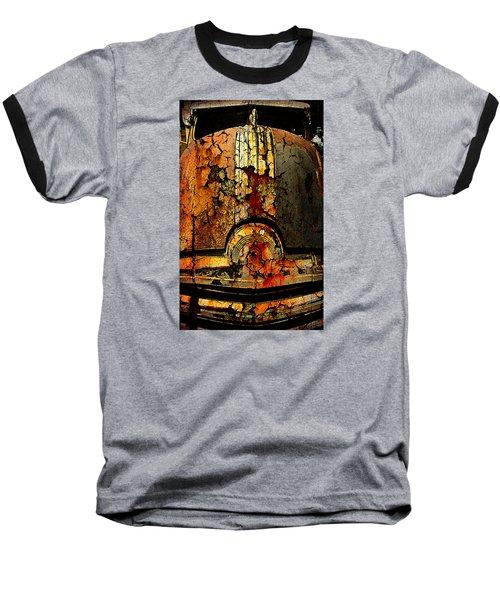 Cracked Pontiac Baseball T-Shirt