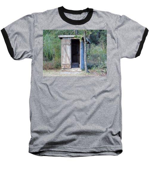 Cracker Out House Baseball T-Shirt