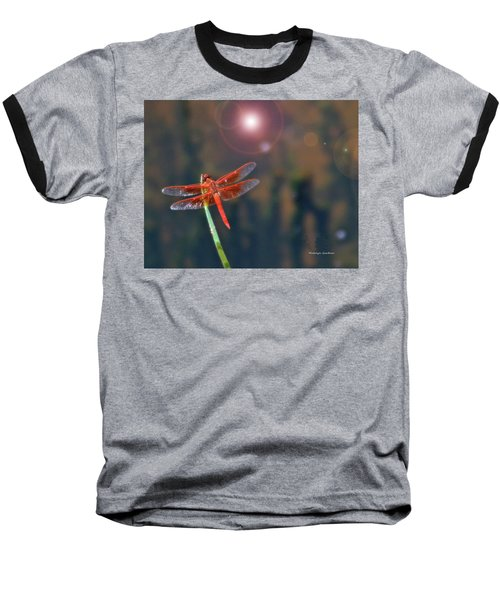 Crackerjack Dragonfly Baseball T-Shirt