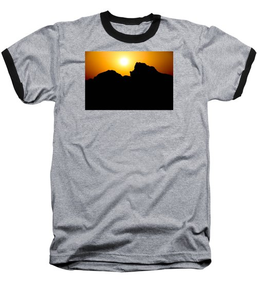 Baseball T-Shirt featuring the photograph Cradle Your Departing by Jez C Self