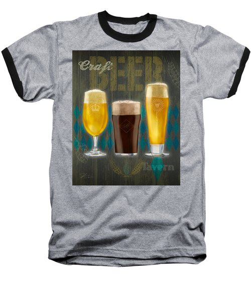 Craft Beer Baseball T-Shirt